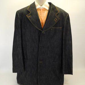 Men's Il Canto Denim Jacket/Vest 44L CL3117 0420